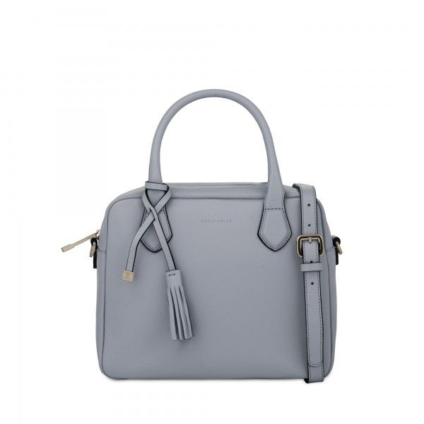 Coccinelle BOWLING BAG IN LEATHER - Coccinelle Bags bag, сумки модные брендовые, www.bloghandbags.blogspot.ru