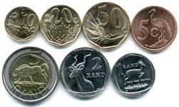 South African money. The rand is the currency of South Africa. It takes its name from the Witwatersrand, the ridge upon which Johannesburg is built and where most of South Africa's gold deposits were found.
