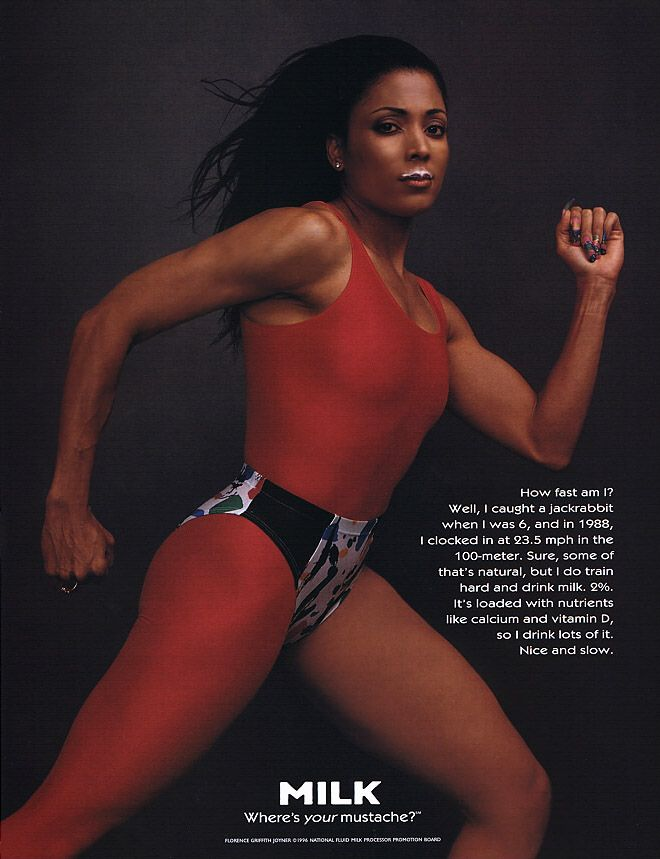 I love this woman and the way she lived her life on the track and off it. A true wonder and inspiration and uhmmm she was sexy as hell!   RIP Flo-Jo