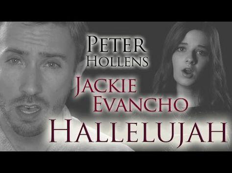 ▶ Hallelujah feat. Jackie Evancho - Peter Hollens - YouTube