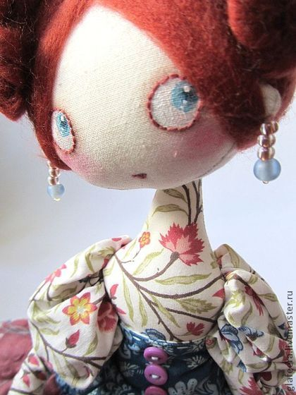 Collectible handmade dolls. Fair Masters - handmade Konchitttta! Interior doll. Handmade.