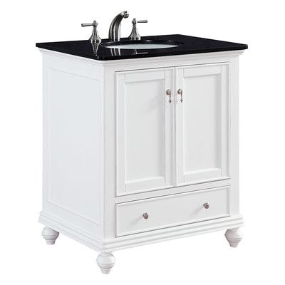 "Elegant Lighting Otto 30"" Single Bathroom Vanity Set"