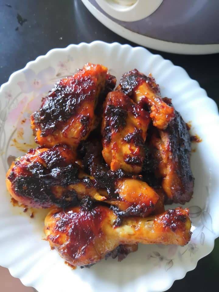 Sedap Ini Resipi Ayam Madu Mudah Tak Guna Banyak Bahan Rasa In 2020 Recipes Easy Meals Food