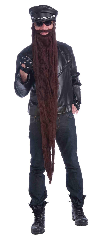 "48"" Long Brown Lumberjack Costume Beard"