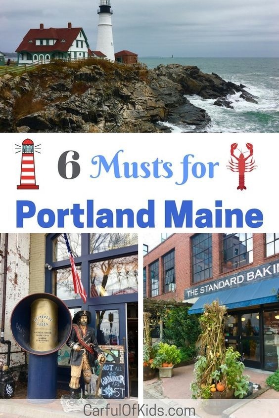 Lighthouse And Lobster Are A Must For Maine Especially Portland Get All The Best Of Both Portland Maine Familytravel