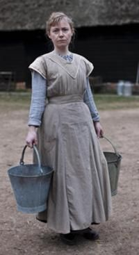2/22/14 2:02a Downton Abbey Mrs Drake Wife of John Drake Series 1 and 2 I found the Series Arc with Isobel a highlight of the series when she helped save John Drakes' life but this Arc was odd because the Drake's seemed much older and it was strange for Edith to get involved so openly with a married man in front of his wife!   The Drake's: Fergus O'Donnell  and Cathy Sara..