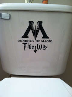 Everything's Copacetic: Harry Potter themed bathroom ~ Near Completion