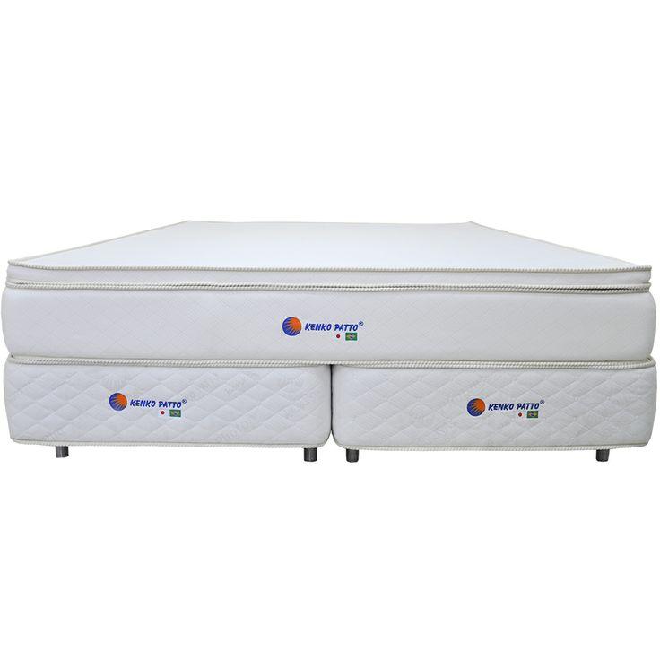 Além de toda a tecnologia existente nos colchões Kenko Patto King Pillow Top Vibrato, este modelo conta com a segunda geração do Photon Platinum - o Photon Íon.
