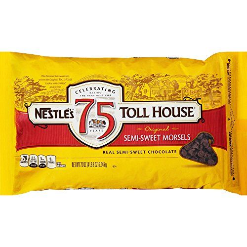 Nestle Chocolate SemiSweet Morsels 72 oz bag *** Check this awesome product by going to the link at the image. #Food