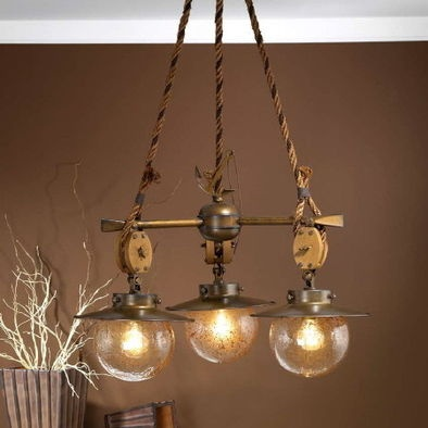 Fredeco Nautical Chandelier 827
