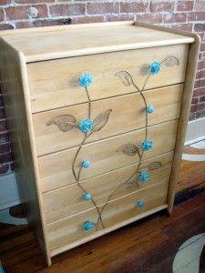 blooming flower pull dresser » sticks and bricks - ideas for sarah's dresser