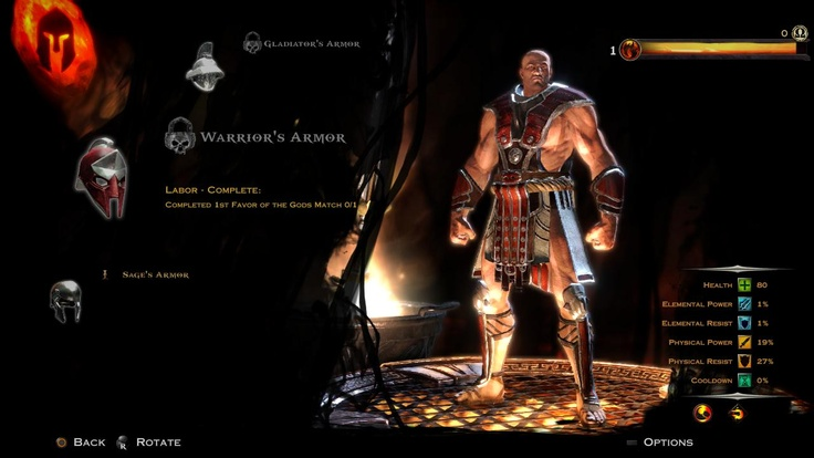 BEGIN!! God of War: Ascension