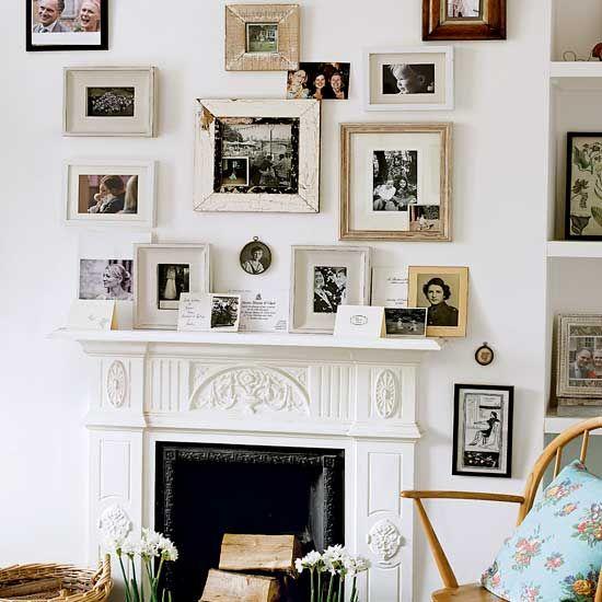Framed print mantelpiece | Mantelpiece ideas | PHOTO GALLERY | Housetohome.co.uk