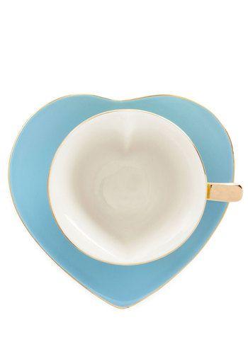 Dream and Sugar Tea Cup Set   Mod Retro Vintage Kitchen   ModCloth.com @Lou Brown