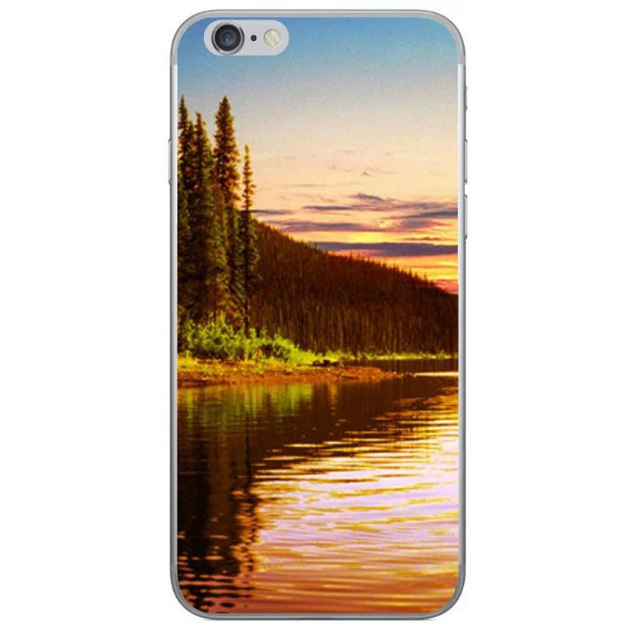 Sunset on the Lake iPhone 7 Soft Case