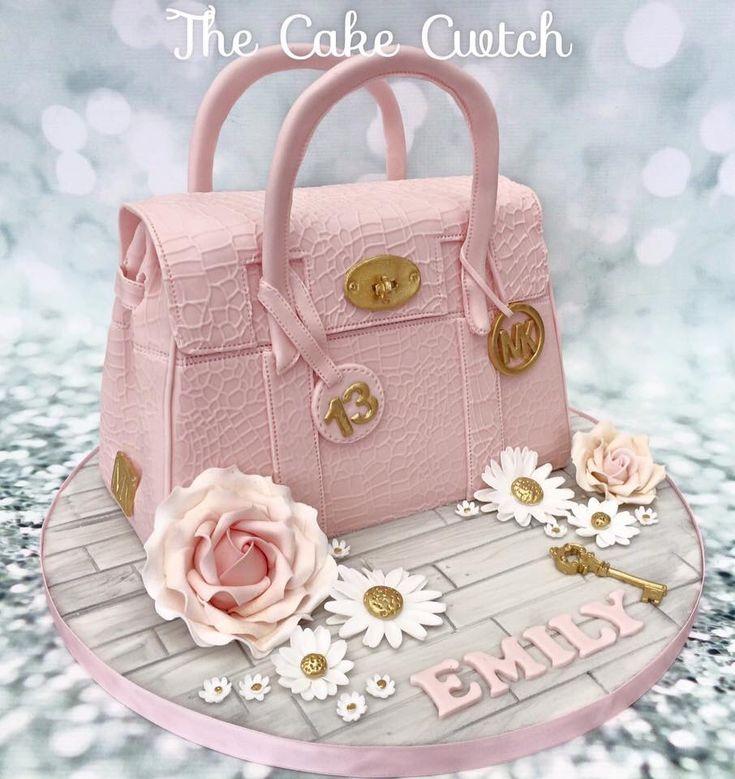 Clutch handbag cake
