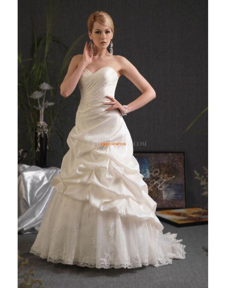 Délka kostel Elegantní & luxusní Bez rukávů Luxusní svatební šaty