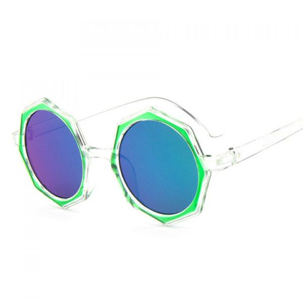Chic Polygonal Frame Candy Color Lenses Women's Sunglasses #shoes, #jewelry, #women, #men, #hats