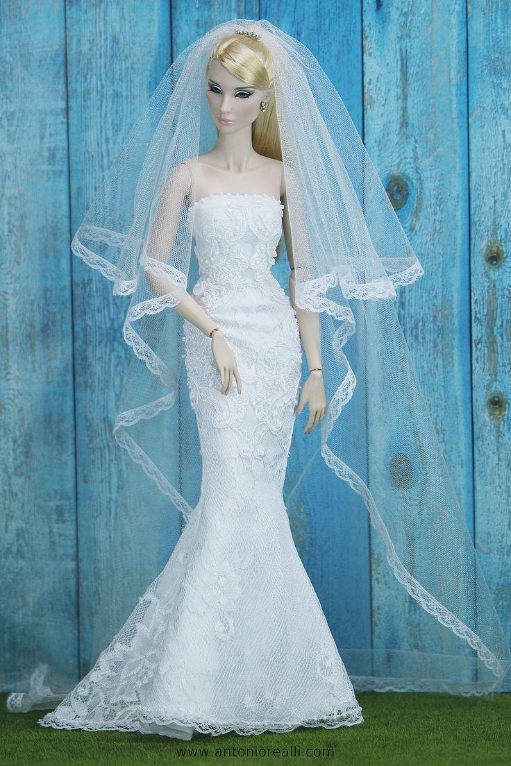 Mejores 3401 imágenes de BARBIES NOVIAS en Pinterest | Vestidos de ...