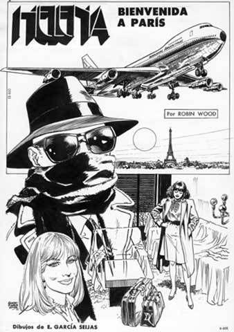 "Revista ""Helena"" - ""Bienvenida a París"" art by Ernesto García Seijas #comicbookartists #comicbooks #artists #fumetti"