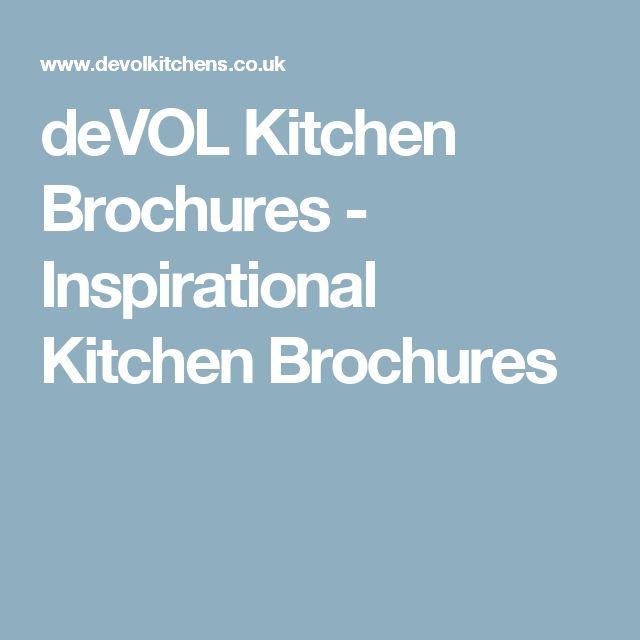 deVOL Kitchen Brochures - Inspirational Kitchen Brochures
