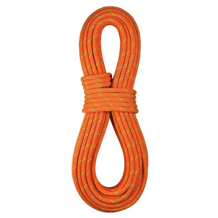 """BlueWater Ropes NFPA """"Technical Use"""" 7/16"""" x 95' SafeLine Static Rope - ORGR"""