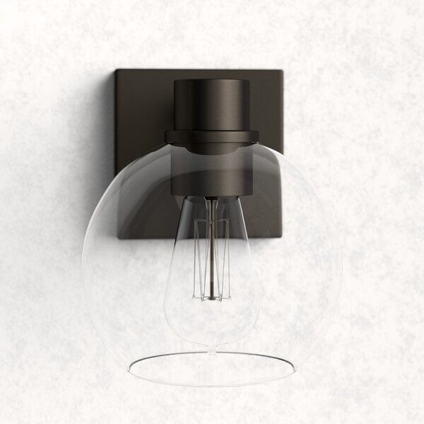 Hoover 1 Light Armed Sconce Wall Sconces Sconces Contemporary Wall Sconces