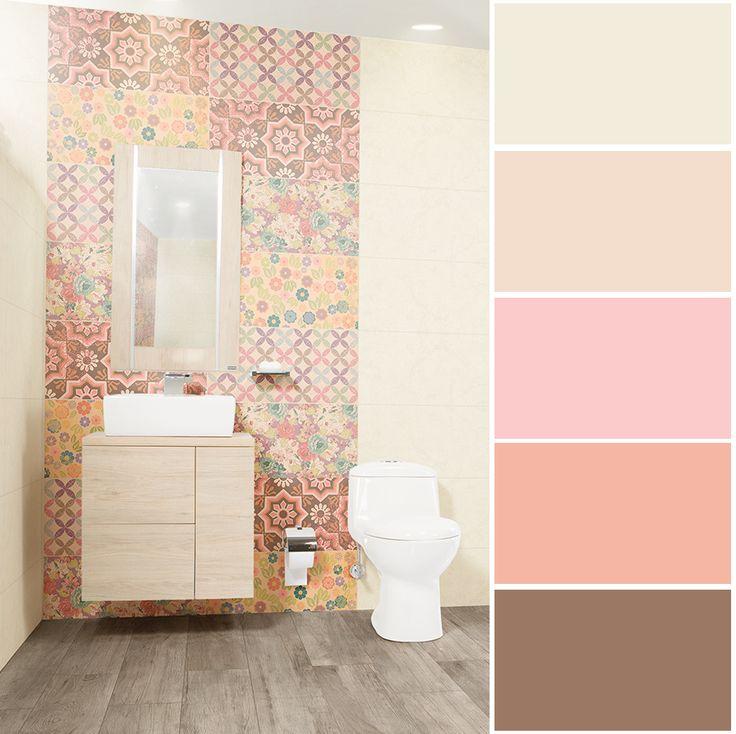 Los tonos rosados, se asocian con el amor  incondicional, inspiran ternura y provocan calma  en el entorno.