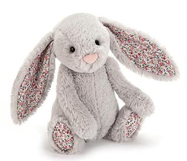 Jellycat: Blossom Bashful Bunny - Silver ~ Medium
