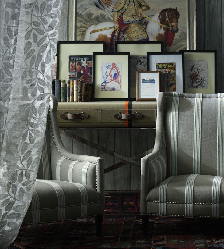 Greys   Brunswick Fabric by Andrew Martin   Jane Clayton