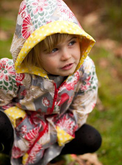 beautiful little rain coats for girls