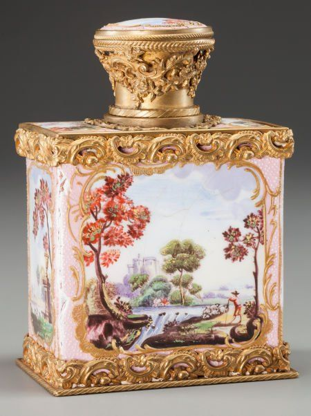 63138: A FRENCH ENAMEL AND GILT BRONZE BOX, late 19th c : Lot 63138