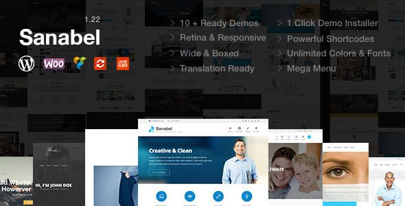 Themeforest WordPress – Sanabel | Responsive Multi-Purpose Theme on Themeforest Free Download http://themeforestfreedownload.com