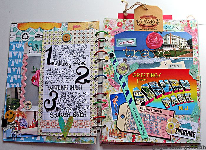ideas for sketchbook pages