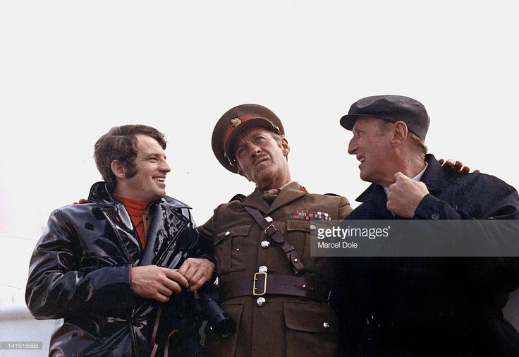 'The Brain' by Gerard Oury with Jean Paul Belmondo, David Niven, Bourvil 1969.