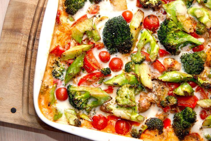 Her får du min opskrift på nemme koteletter i fad med grøntsager, der laves med bankede koteletter, broccoli, peberfrugt og andet lækkert. Koteletter i fad nydes med ris eller mos.