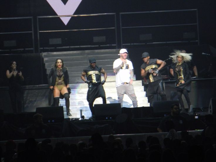 """Farruko:The Bad Man Tour on Friday August 5 2016 Allentown PA. The 2nd time my family see Pitbull in Concert. Epic and Amazing like our first time. """"Don't Stop The Party!"""" Pitbull, Prince Royce, Farruko and Fuego."""