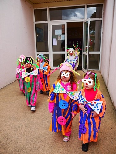 clown chez Nolwenn