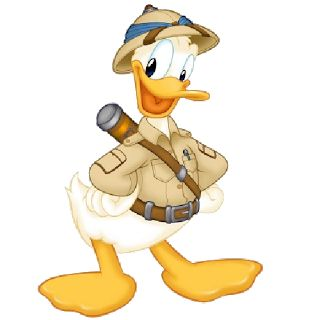 Disney Safari Character Donald Duck 1