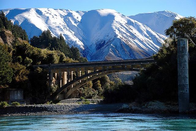 Rakaia Gorge, New Zealand