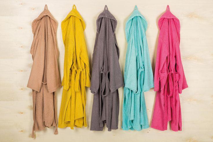 New Plus bathrobes