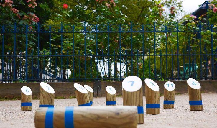 TUTORIEL - Avec un piquet de bois et quelques coups de scie, confectionnez un jeu de quilles pour animer vos soirées d'été.