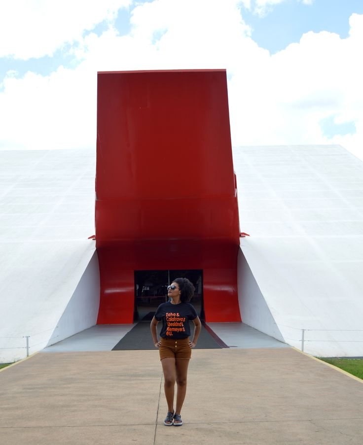 T-shirt Grandes Arquitetos . Zaha Hadid . Santiago Calatrava . Daniel Libeskind . Oscar Niemeyer . Auditório do Ibirapuera . Camiseta criativa . Arquitetos . Arquitetura . Architecture