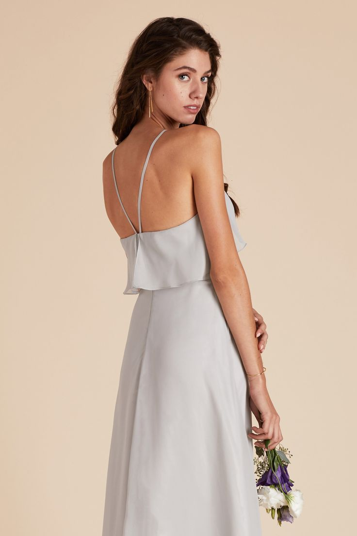 31 best julia bridesmaid dresses images on pinterest wedding dove gray halter bridesmaid by under 100 by birdy grey ombrellifo Choice Image