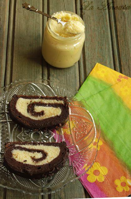 La Ancuţa: Rulada cu crema de ciocolata Raffaello