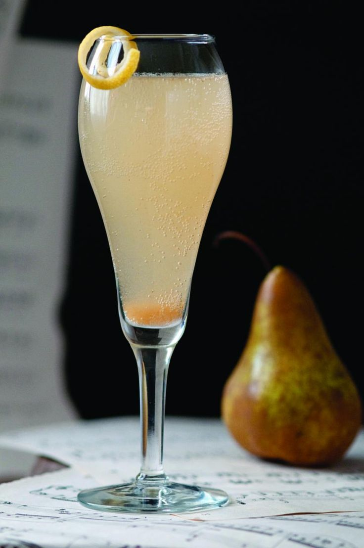 The Singing Pear, created by cocktail consultant and renowned mixologist Natalie Bovis, is expertly crafted to make your next happy hour a bit sweeter.