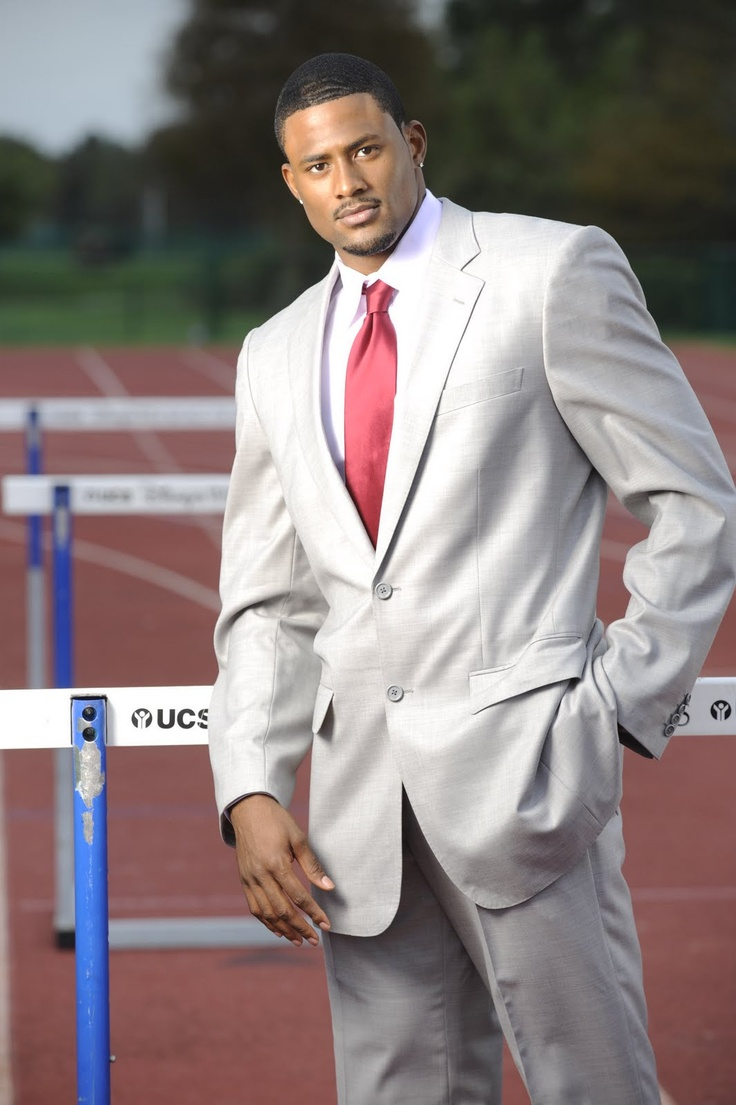 David Oliver / Track / Olympic athlete Young man...stay classy.