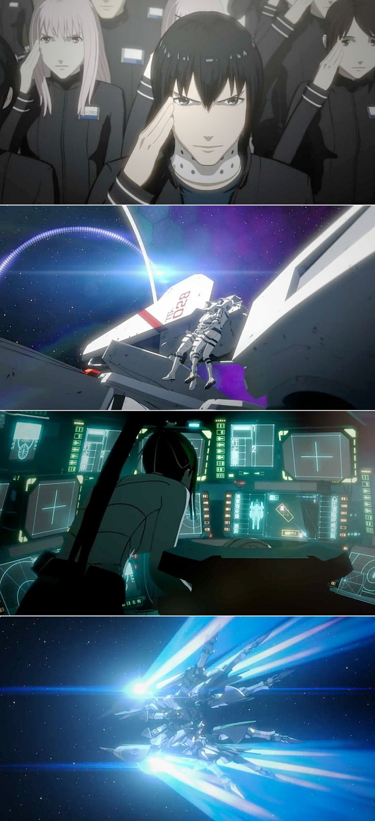 "Netflix is making its first original anime series! ""Knights Of Sidonia"" It looks like Robotech. Read more: http://sploid.gizmodo.com/netflix-first-original-anime-series-looks-robotech-leve-1596440518"