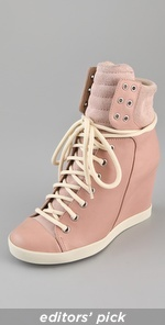 See by Chloe..: Shoes, Fashion, Style, See By Chloe, Sneaker Wedges, Wedged Sneakers, Chloe Lace, Wedge Sneakers, Lace Up Wedges