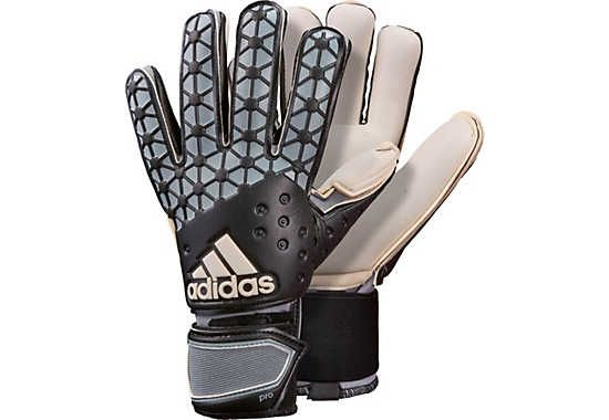 adidas ACE Pro Classic Goalkeeper Gloves - Black and Grey